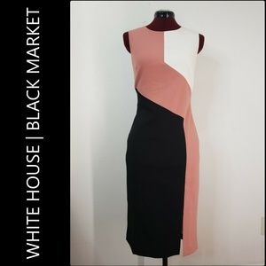 White House Black Market Woman Sleeveless Dress 8